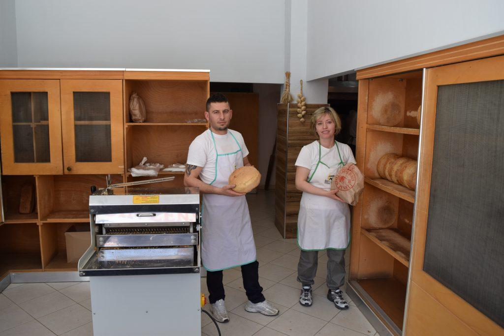 Die ersten Brote des Tages